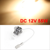 DC 12V 55W H3 Halogen Headlight Fog Light Bulb Super Yellow for Car