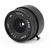 CCTV Box Camera Fixed 4mm Focus Length IR Board Lens F1.2 Black