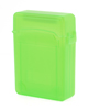"Double Layer Antislip 2.5"" SATA HDD Storage Hard Drive Case Box Green"