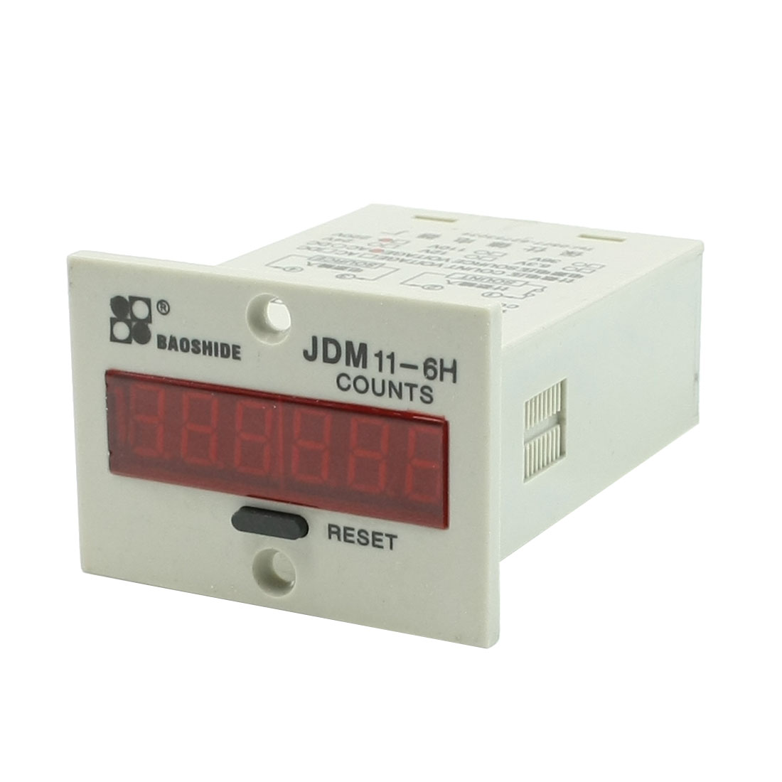 JDM11-6H AC 220V Resettable 6 Digits LED Display Electric Digital Counter