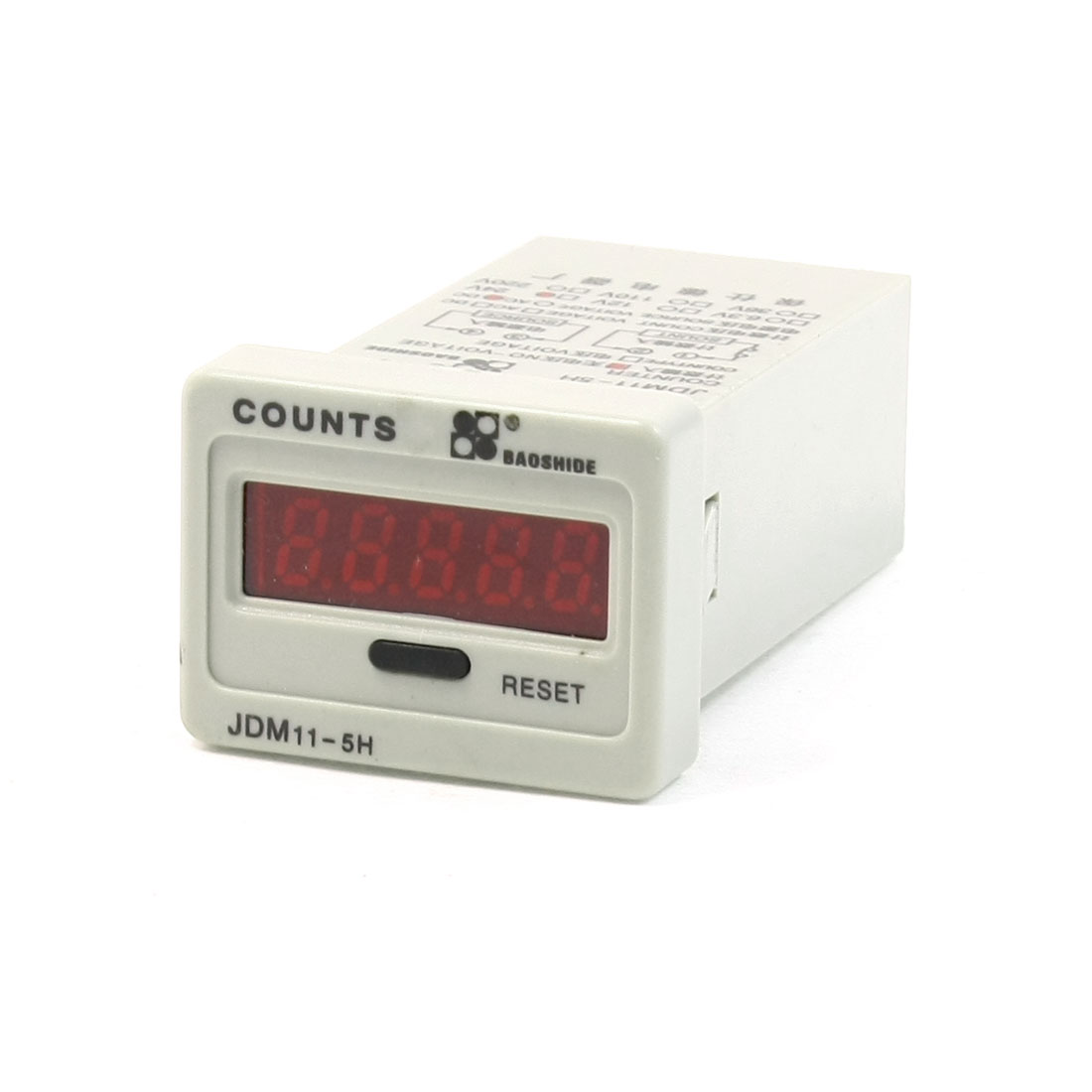 JDM11-5H DC 24V Resettable 5 Digits LED Display Electric Digital Counter