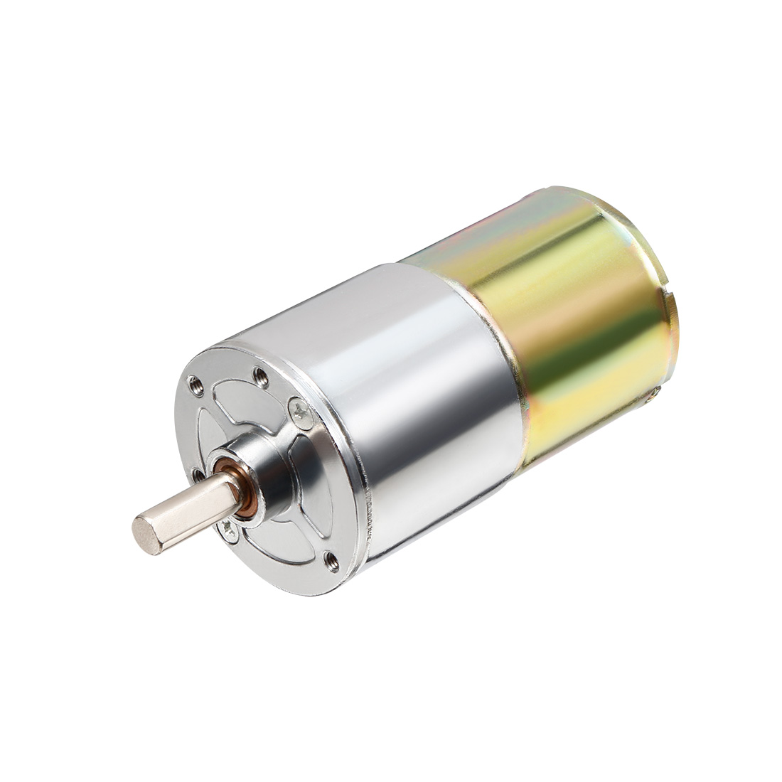 DC 12V 100RPM Micro Gear Box Motor Speed Reduction Electric Gearbox Centric Output Shaft