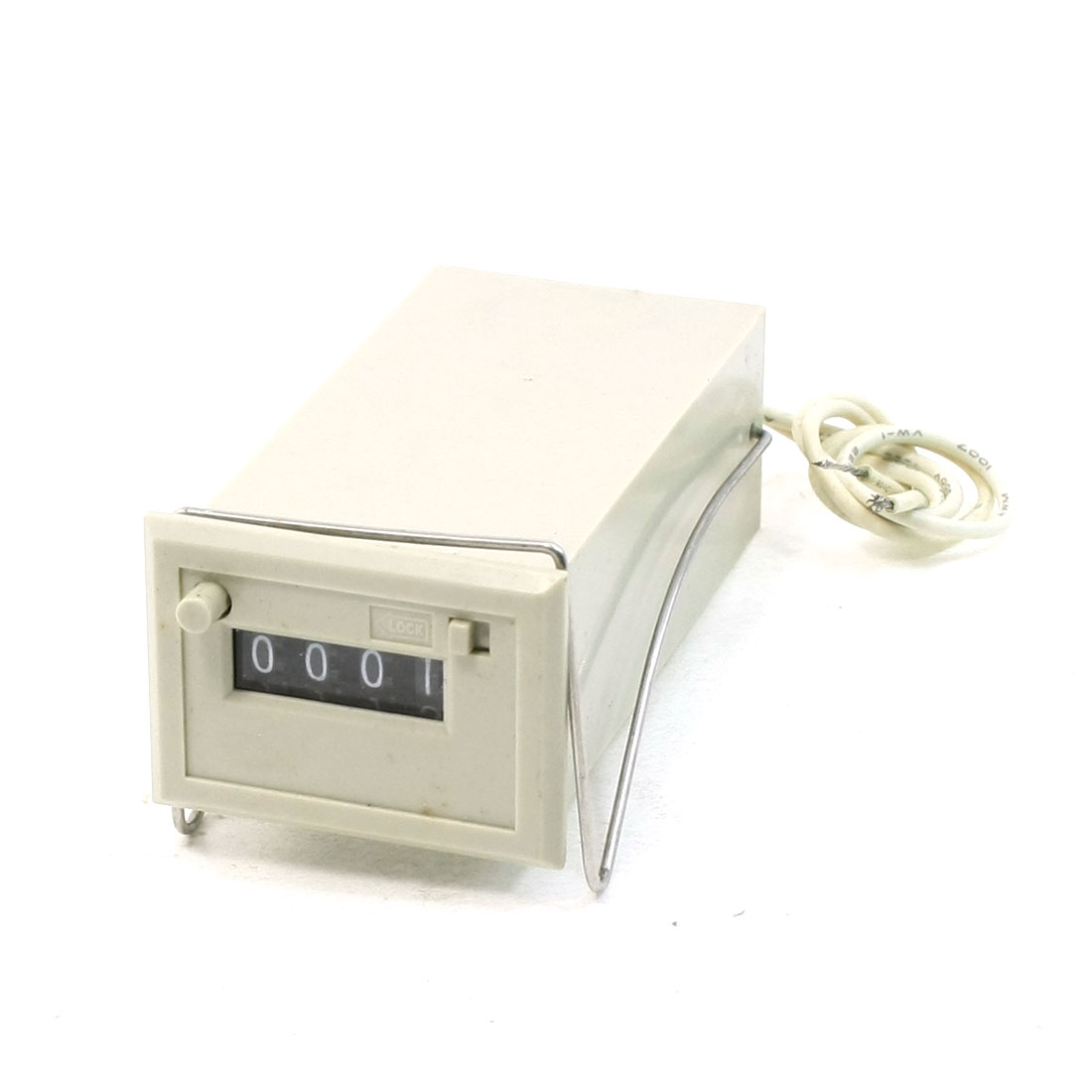 CSK4-DKW DC 24V 4 Digits 2-Wire Lockable Electronmagnetic Counter