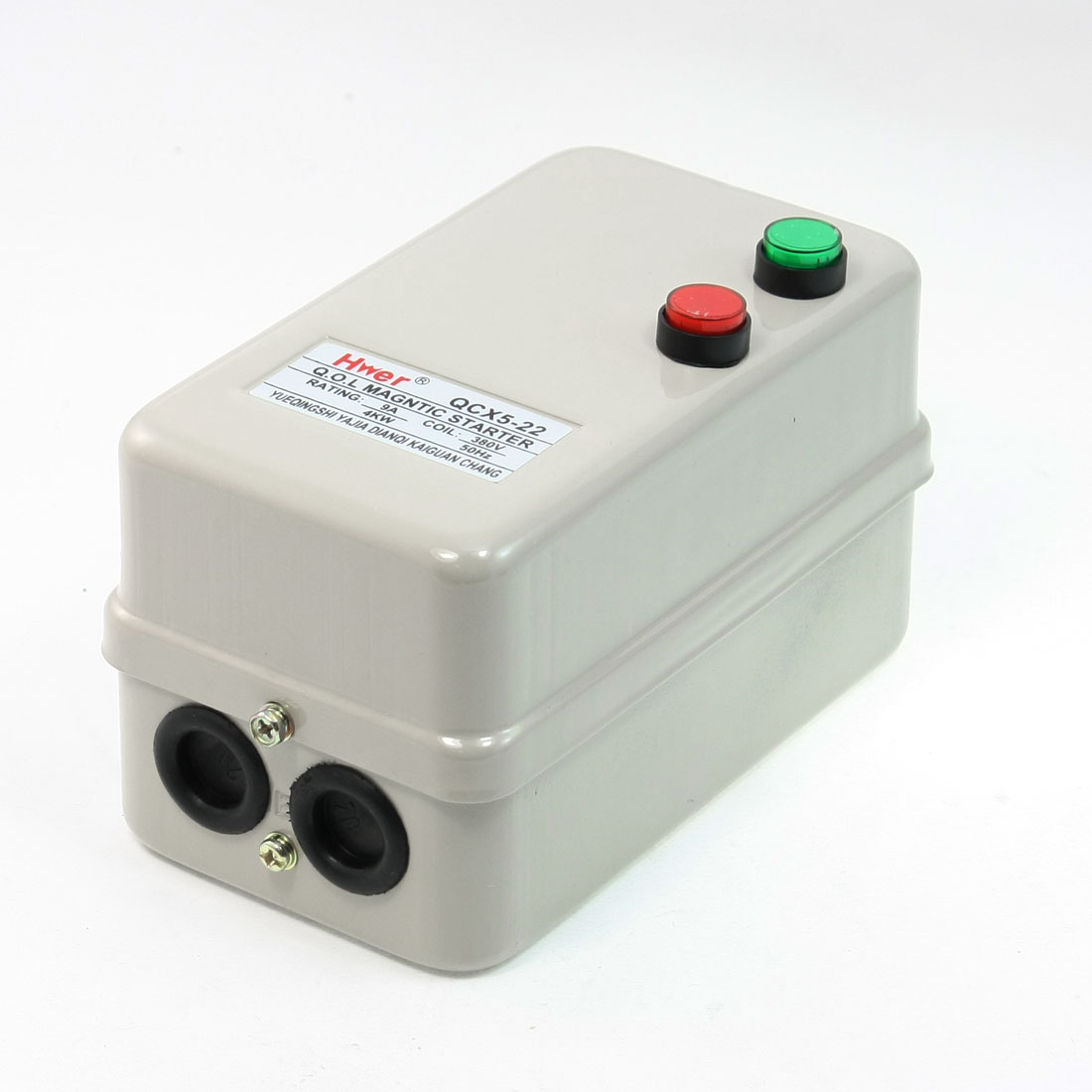 380V Coil 4KW 3 Pole 1NO Motor Control Contactor Magnetic Starter 6.8-11A