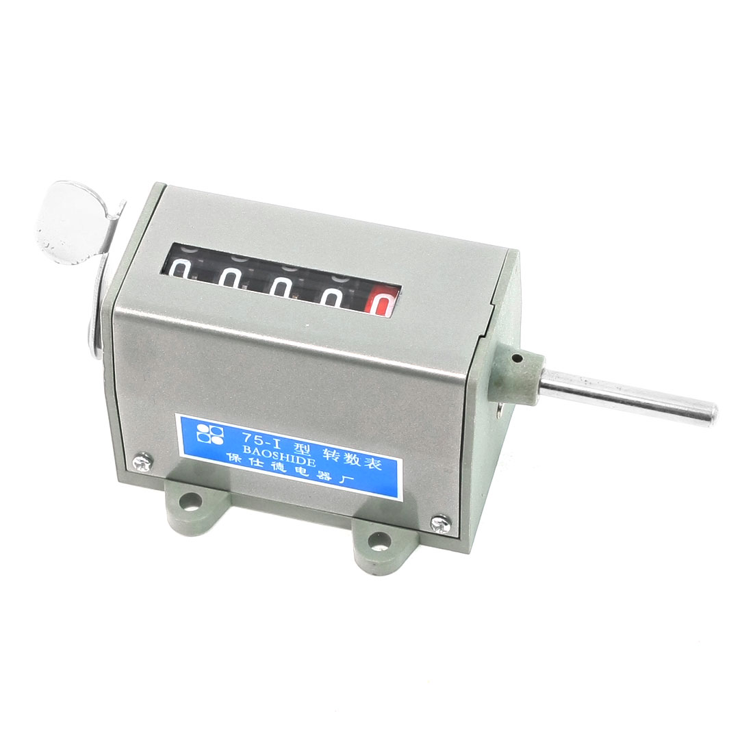 Mechanical Resettable 5 Digits Display Rotary Counter