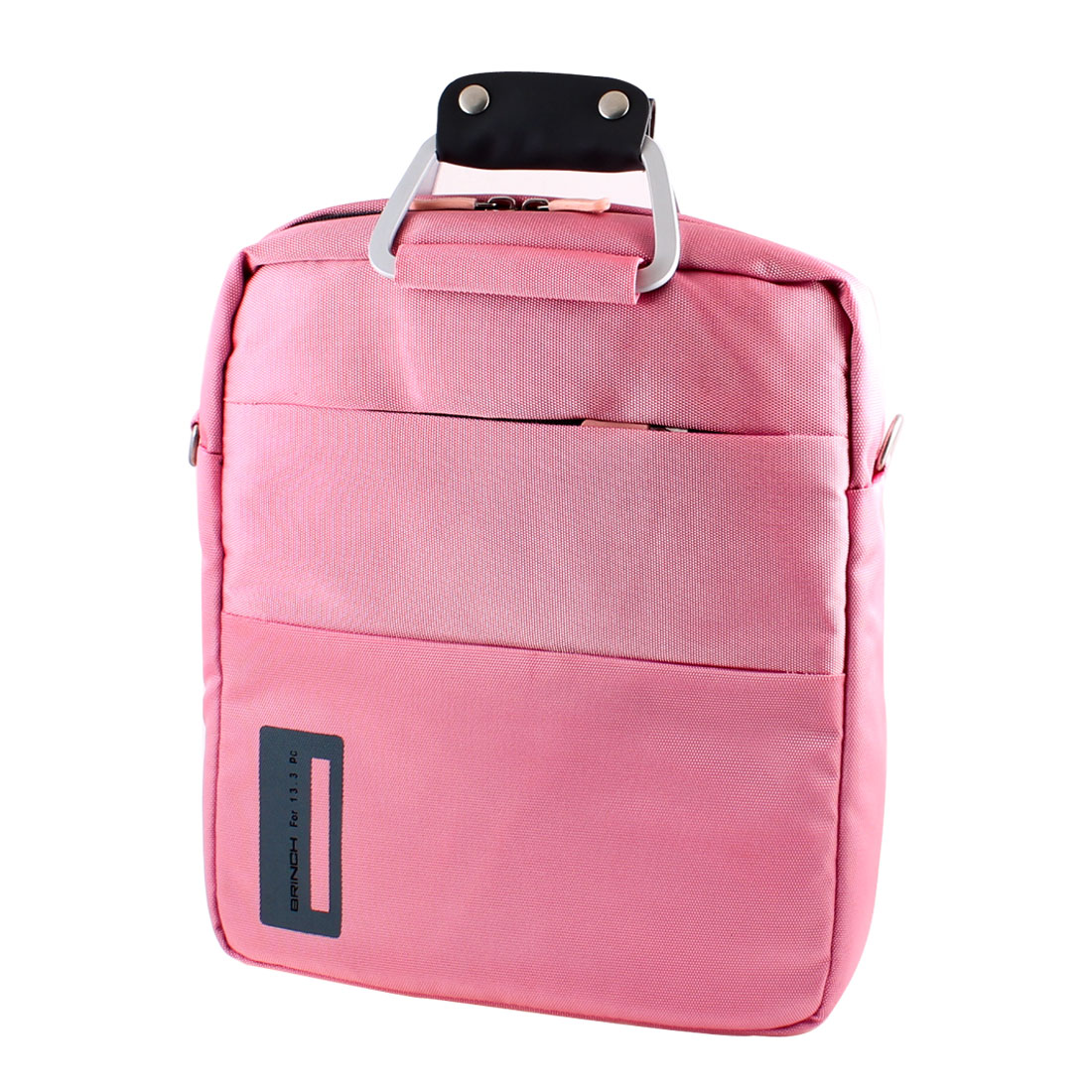 "13"" 13.3"" Laptop Notebook Carry Bag Case Pouch w Shoulder Strap Pink"