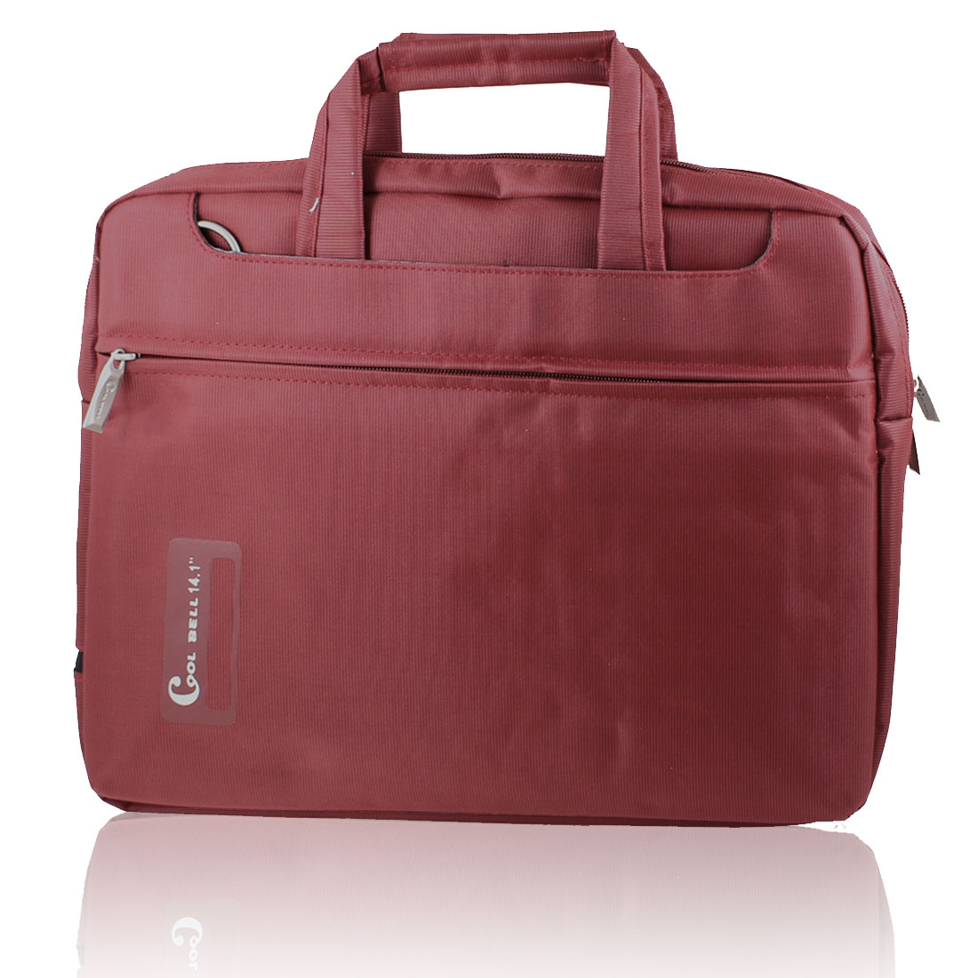 """12"""" 12.1"""" Laptop Notebook Carrying Bag Case Pouch w Shoulder Strap Red for Asus"""