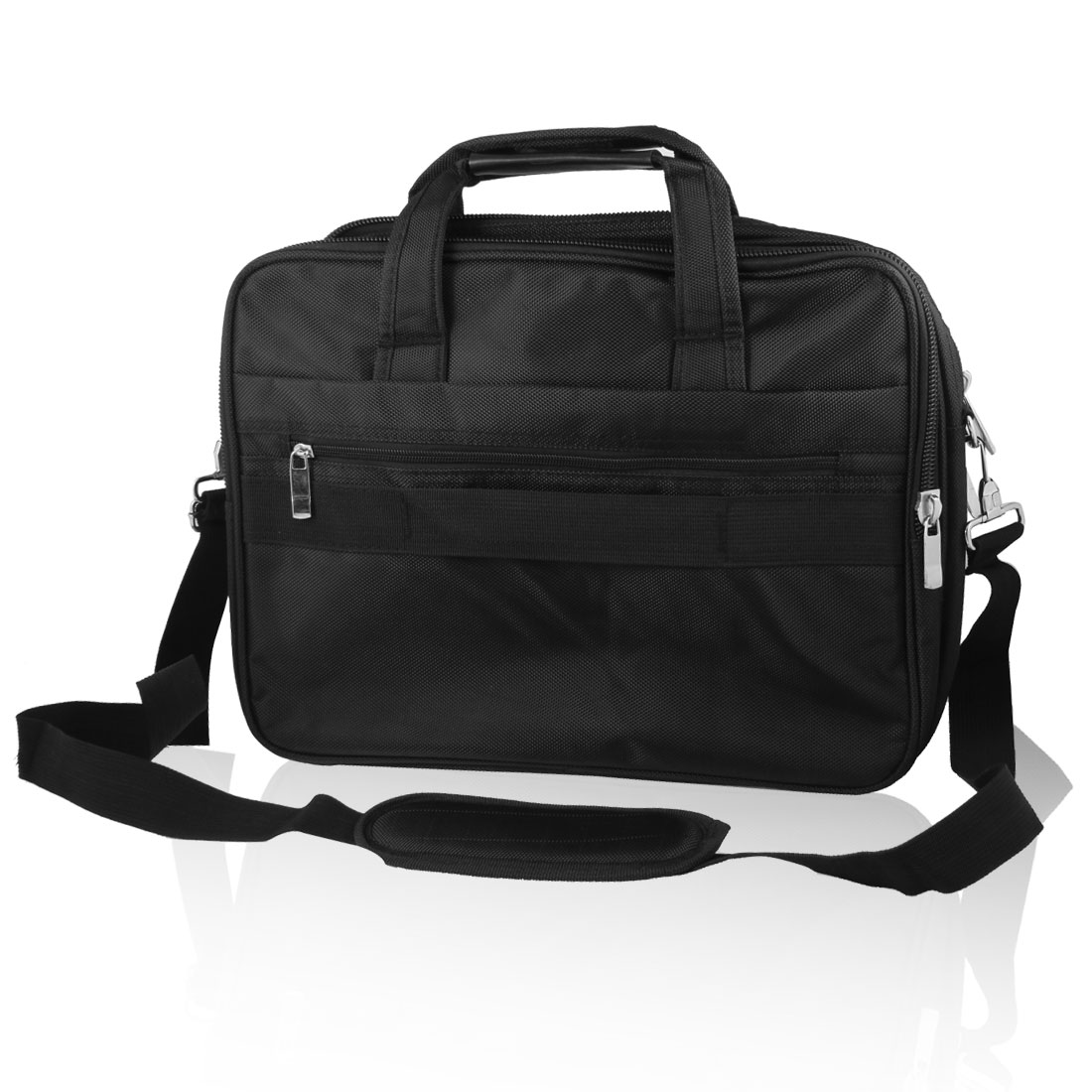 "14"" 14.1"" Laptop Notebook PC Carry Bag Case Pouch w Shoulder Strap Black for HP"