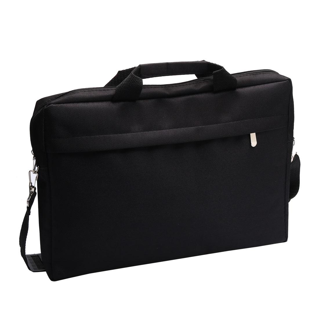 "15.4"" 15.6"" Laptop Notebook Carry Bag Case Pouch w Shoulder Strap Black for Acer"