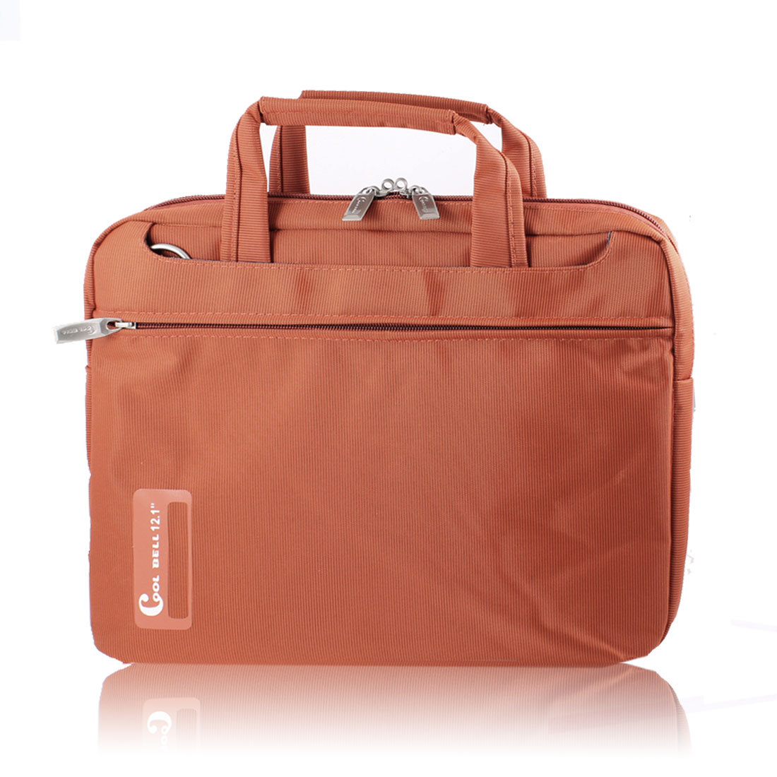 "12"" 12.1"" Laptop Notebook Carrying Bag Case Pouch w Shoulder Strap Orange for HP"
