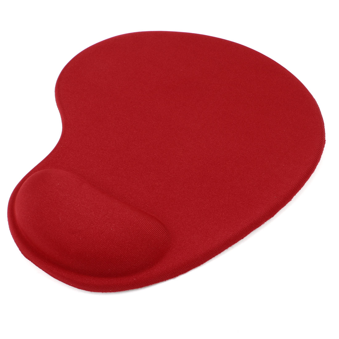 Red Silicone Gel Wrist Comfort Rest Mouse Pad Mat for Laptop Desktop