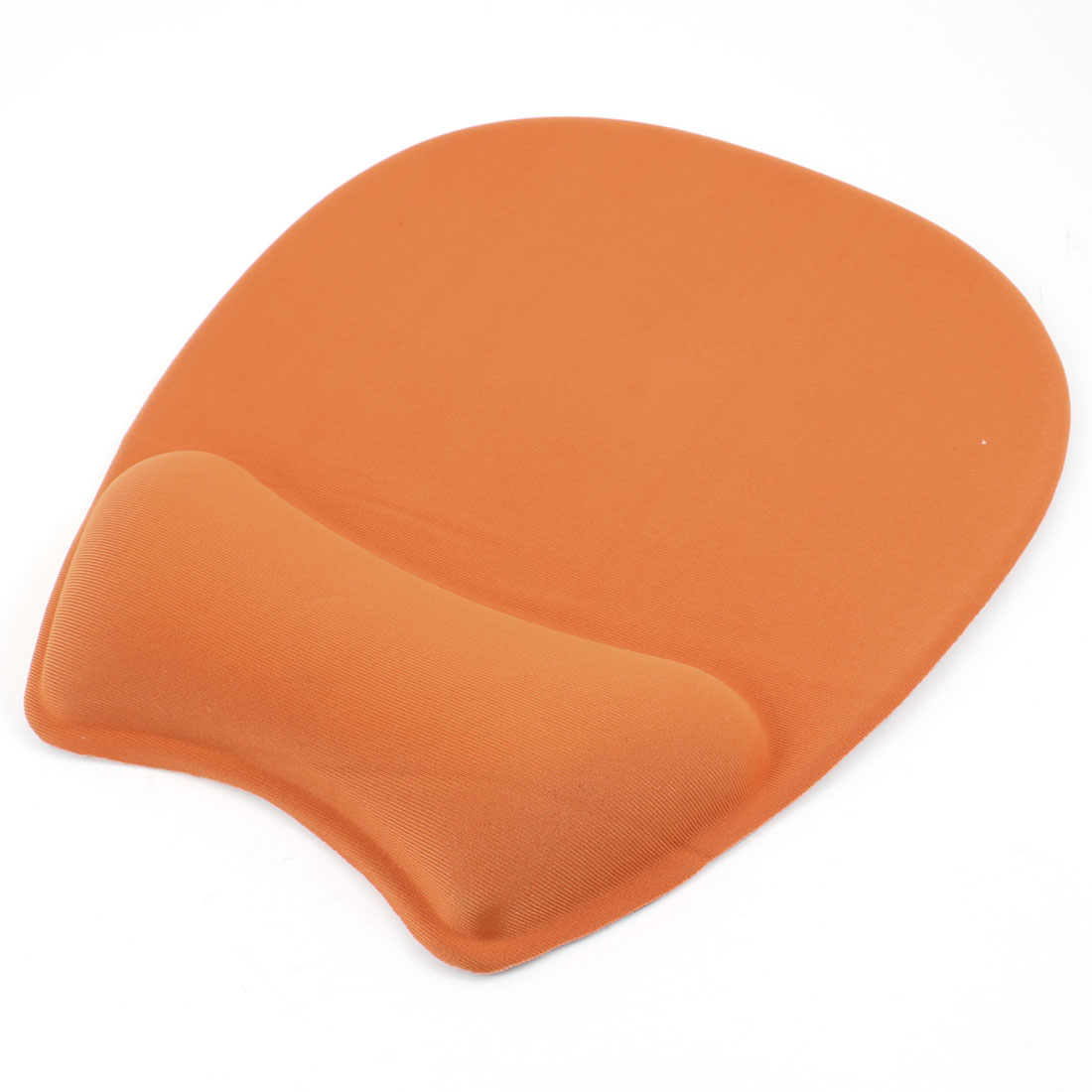 Orange Silicone Gel Wrist Rest Support Mouse Pad Mat for Desktop Computer