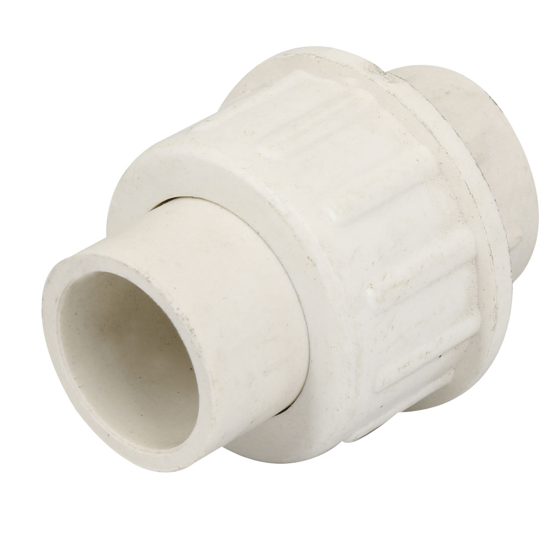20mm Inner Diameter Male Adapter PVC Pipe Fitting Straight Connector White
