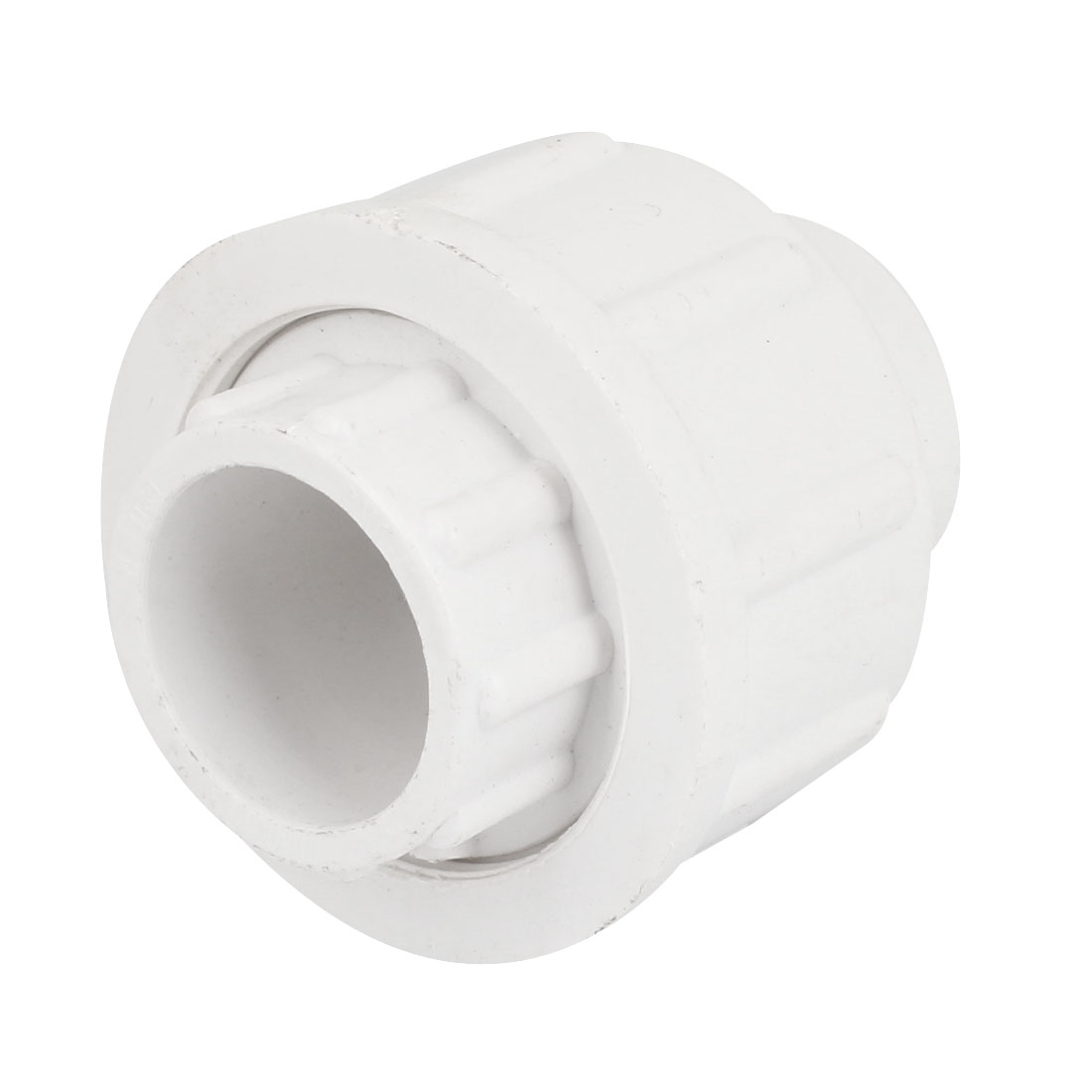 25mm Inner Diameter Male Adapter PVC Pipe Fitting Straight Connector White