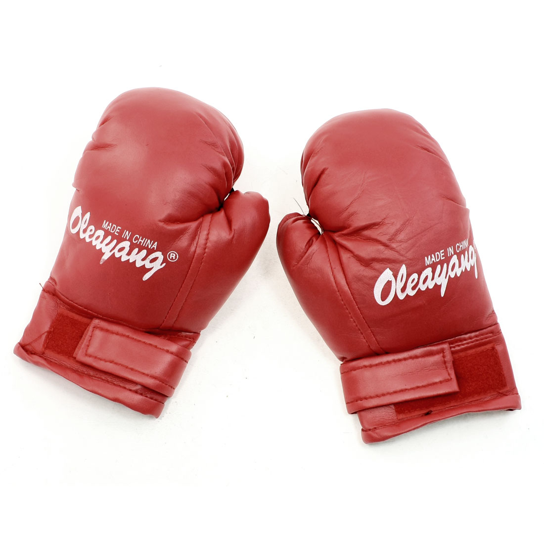 Kid Children Sports Boxing Kickboxing Punching Training Gloves Mittens Red