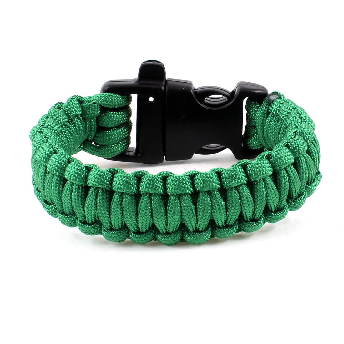 Outdoor Quick Release Buckle Survival Bracelet Green 220Lbs