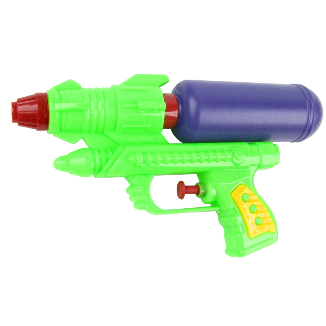 "7.1"" Long Green Purple Plastic Water Gun Squirt Toy for Children"