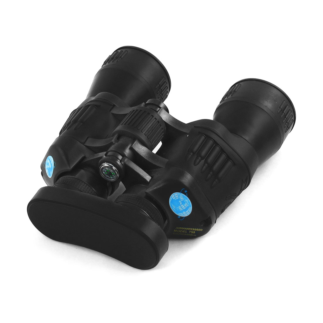 Plastic Black Traveling Climbing Adjustable Focal Length Binoculars Telescope