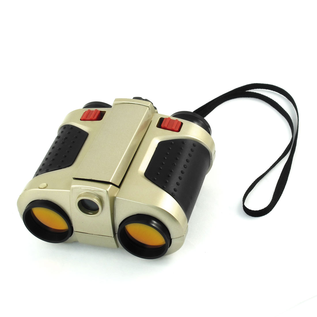 Children Camping Hiking 4X Pop-Up Light Plastic Binoculars Telescope Toy