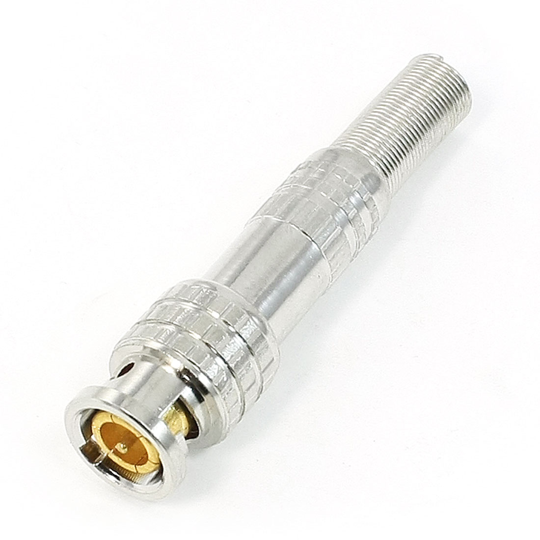 Coaxial Cable CCTV Camera Solderless Spring BNC Male RF Connector