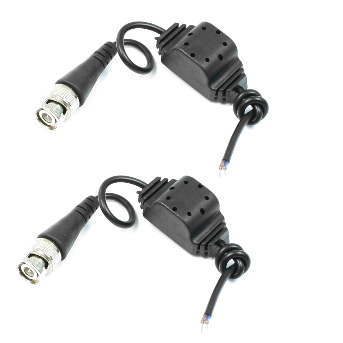 2pcs CCTV Security Camera Passive UTP Twisted Waterproof Video Balun Transceiver