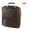 "13"" 13.3"" Laptop Carry Bag Case Pouch w Shoulder Strap Coffee Color for PC"