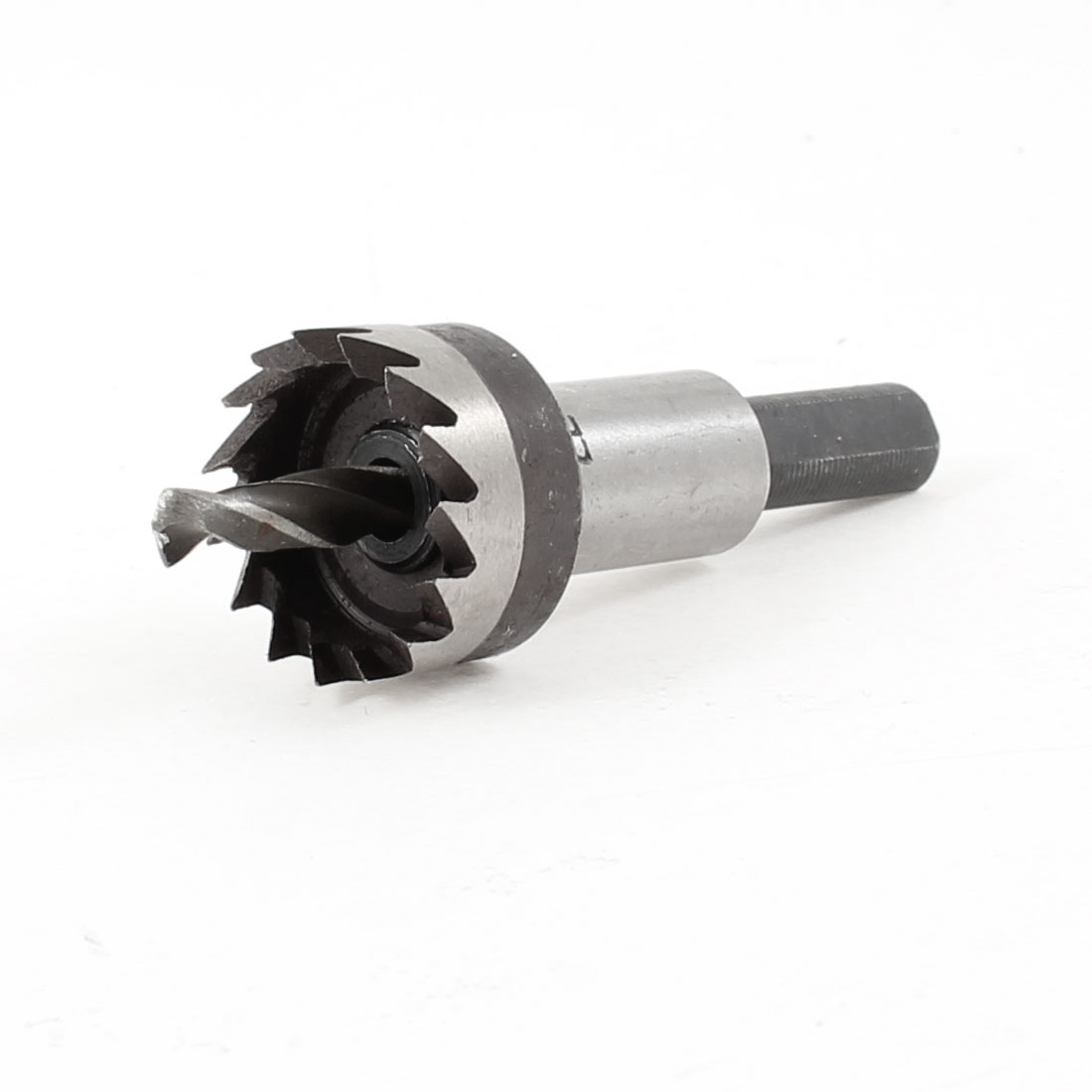 Triangle Shank 5.5mm Twist Drill Bit 22mm Diameter HSS Iron Cutting Hole Saw
