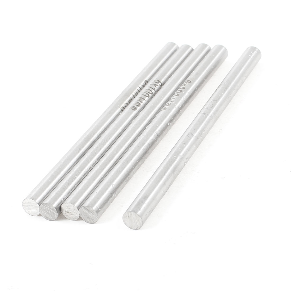 5 Pcs 6mm x 100mm HSS High Speed Steel Turning Bars for CNC Lathe