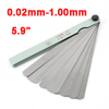 Measure Tool Metallic 0.02mm-1.00mm Thickness Feeler Gauge 17 in 1