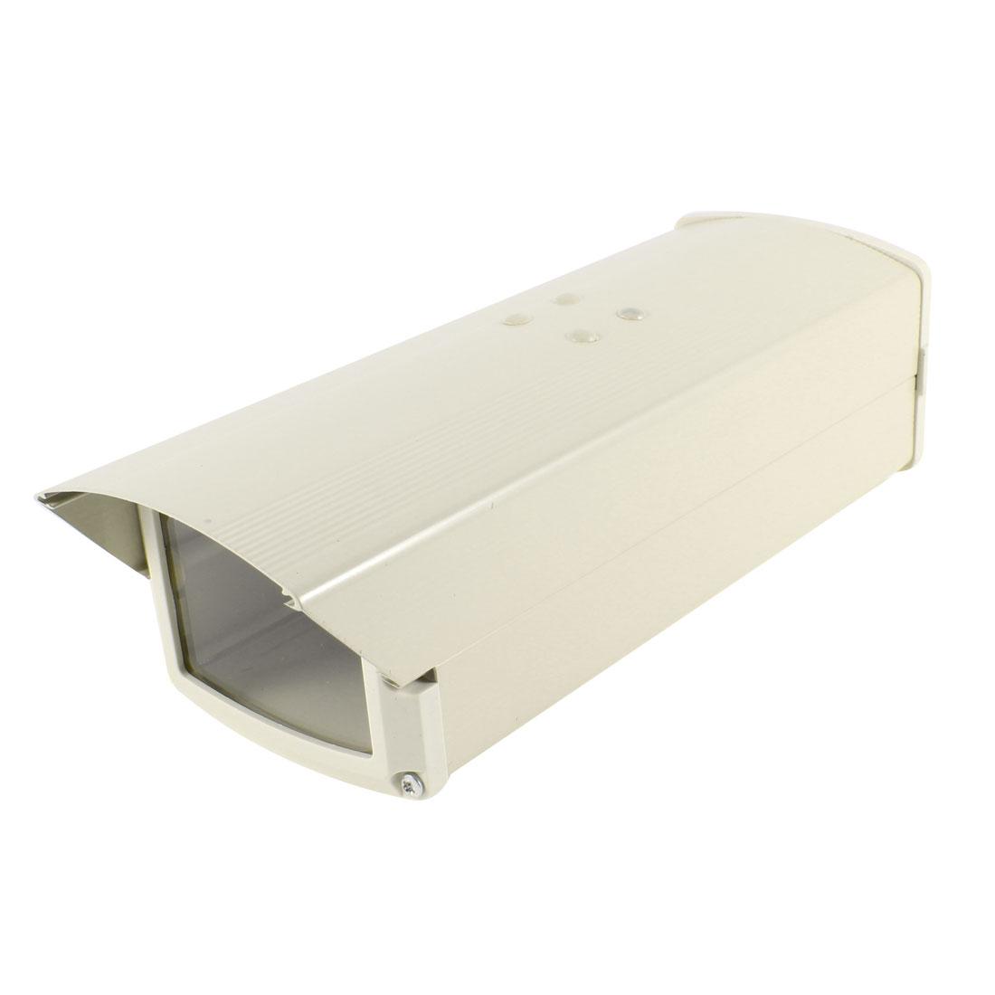 "9.5"" x 3.5"" x 3"" Outdoor External Protector Silver Tone Camera Housing Cover"