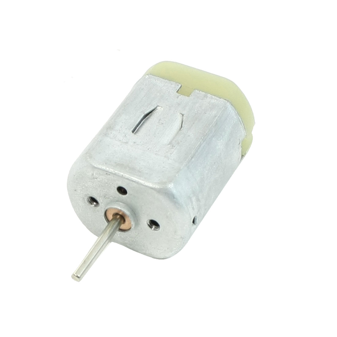 DC 12V 0.15A 12000RPM 2mm Dia Shaft 2 Terminals 2P Magnetic Motor