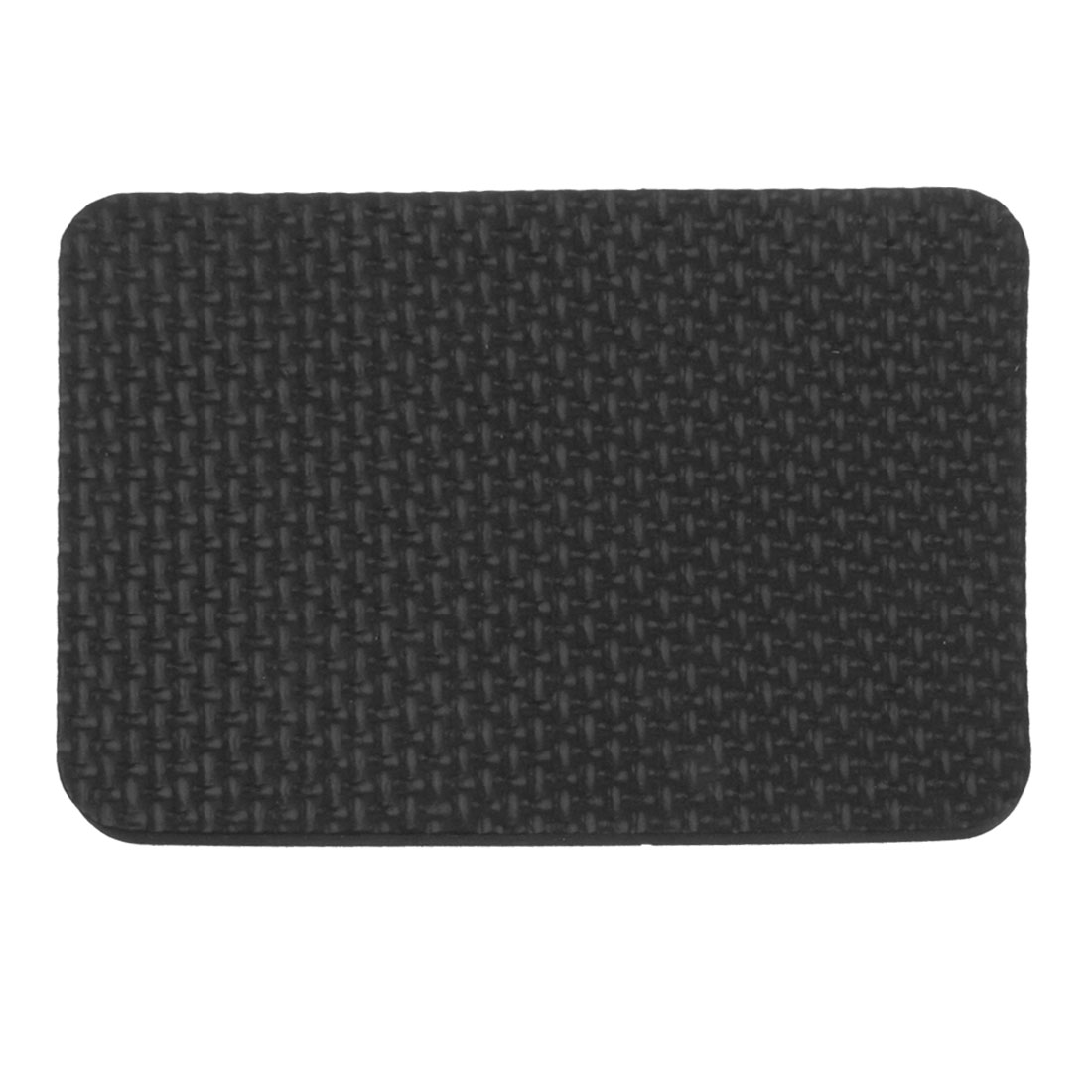 10.5cm x 7.5cm Rectangle Furniture Tables Chairs Protection Mat Pad Black