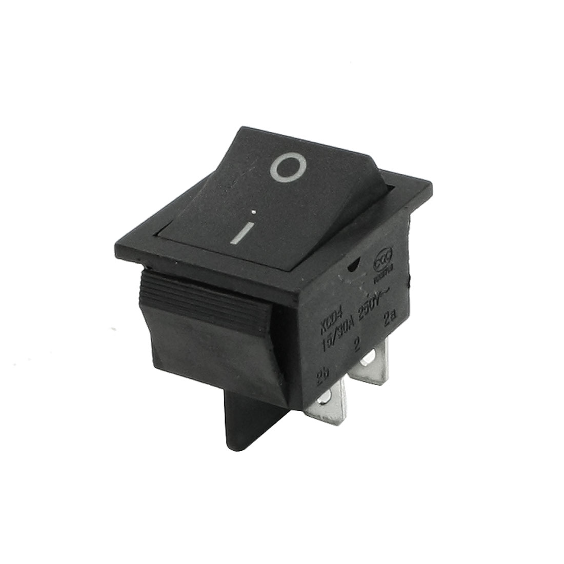AC250V 15/30A 4 Pin ON/OFF 2 Position DPST Snap in Boat Rocker Switch
