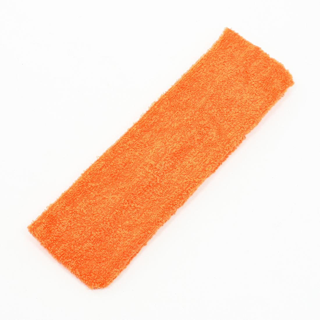 Orange Stretchy Soft Headband Sports Sweat Hair Head Wrap