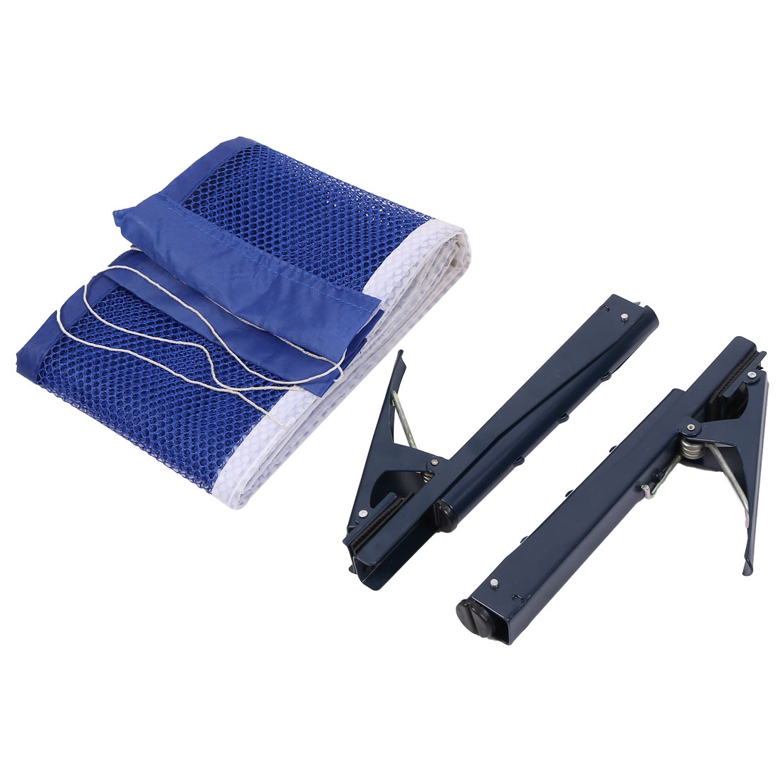 Table Tennis 1.79M Long Nylon Net w Dark Blue Metal Post Stand