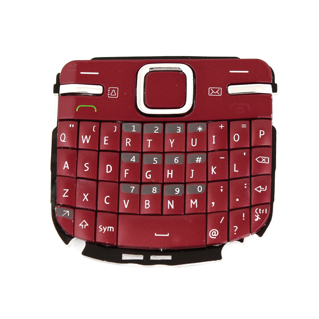 Red Buttons Keypad Replacing Part Keyboard for Nokia C3