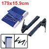 Table Tennis 1.79M Long Nylon Net w Dark Blue Metal Post Stand