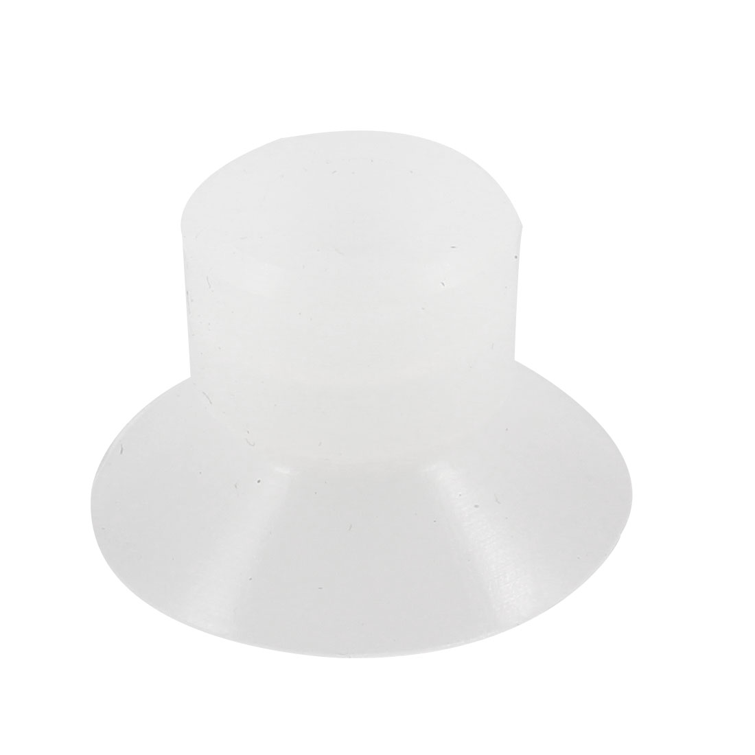 Vacuum Equipment Spare Part 21mm Dia Suction Cup Clear White