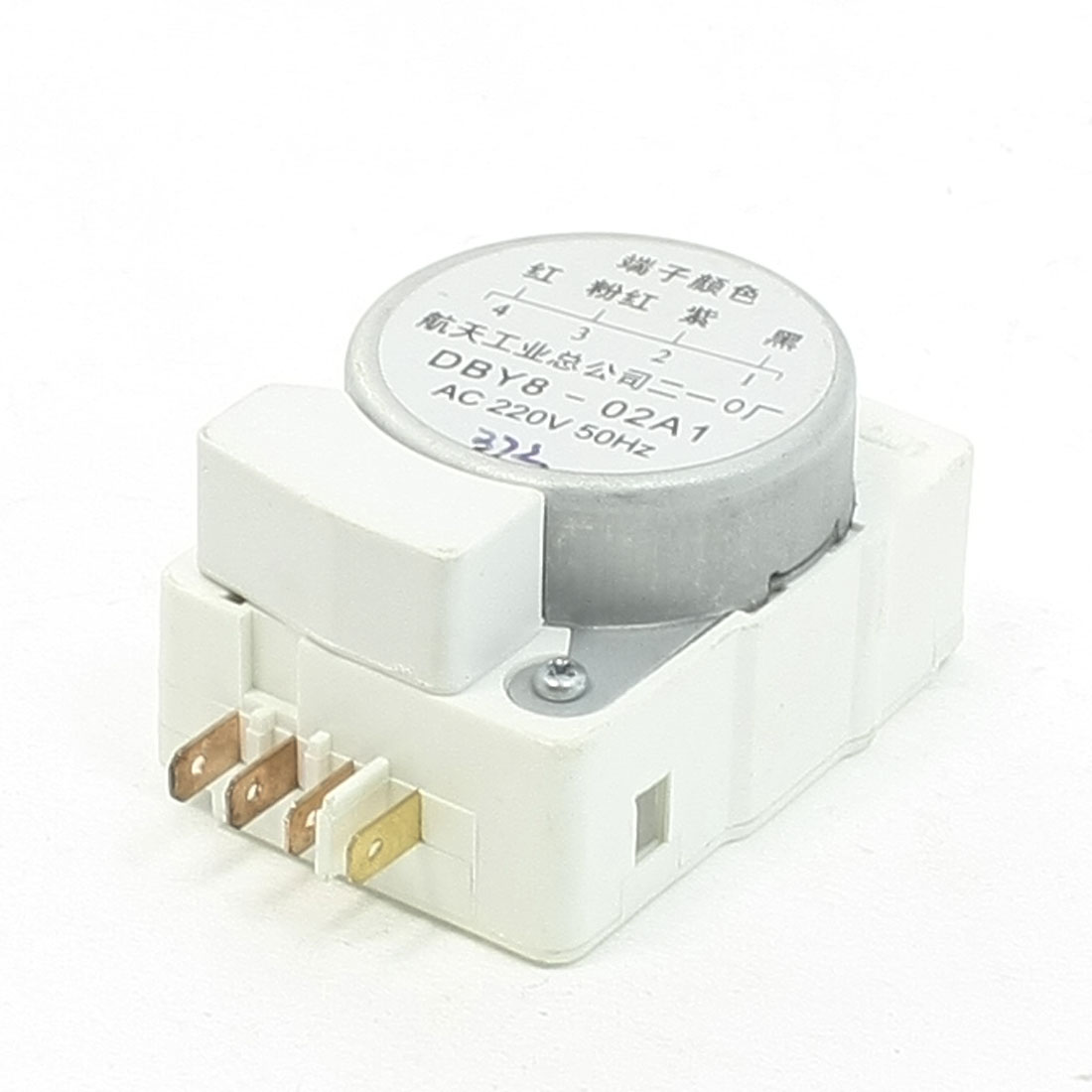 Marked 4 Pins DBY8-02A1 Refrigerator Defrost Timer Control AC 220V 50Hz