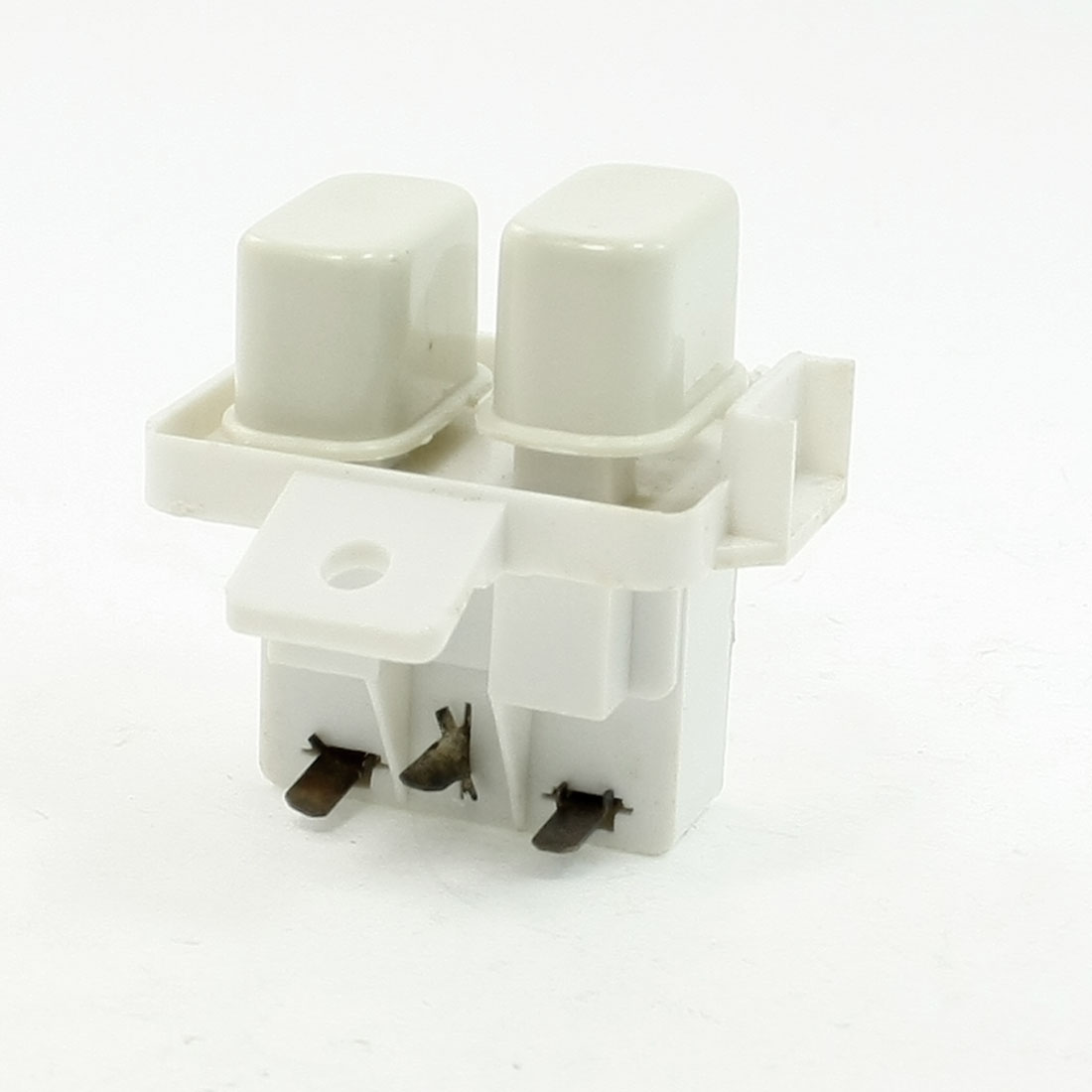 AC 250V 25A 3P Lug Knob Latching Power Switch for Welli Washing Machine