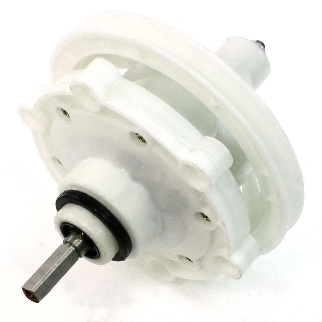 6.5mm Dia Square Shaft Inner Thread Washing Machine Gear Box Reducer