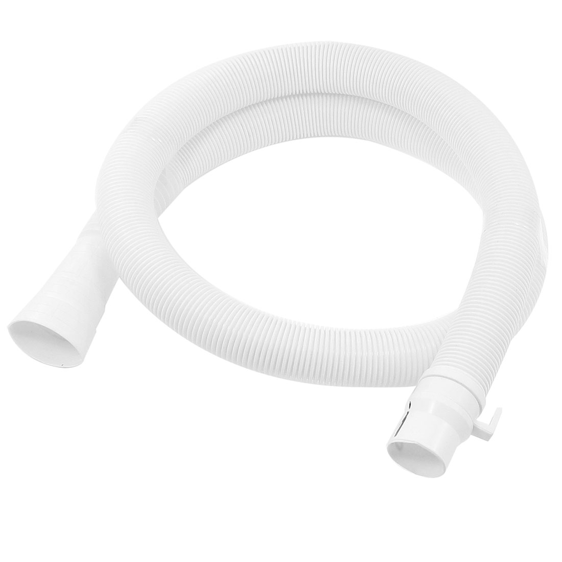 "Replacement Part 59"" Length Washer Plastic Water Outlet Drain Hose White"