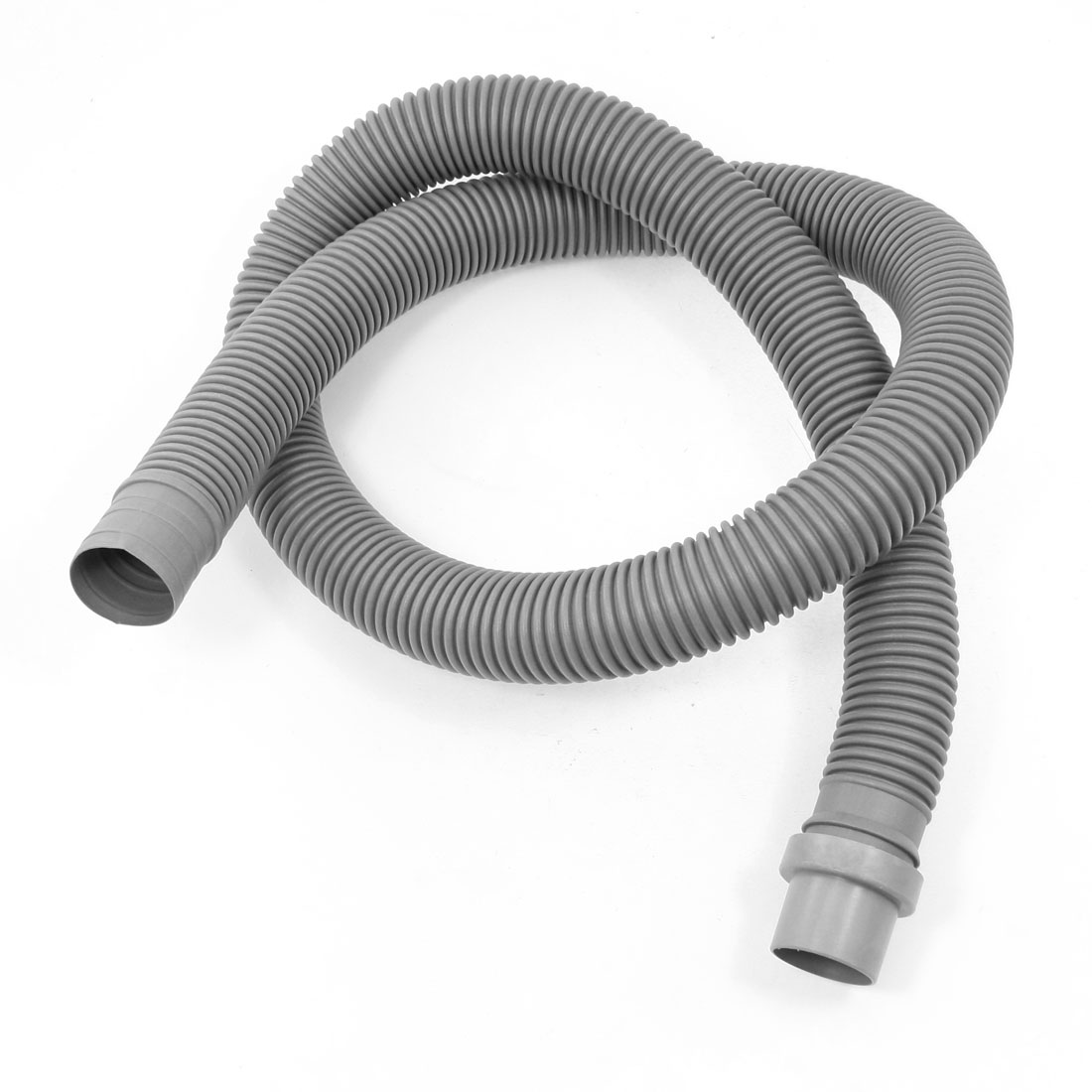 Spare Components Gray Plastic Flexible 1.3 Meter Drain Hose for Washer