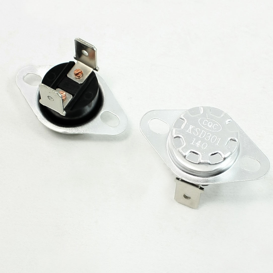 KSD301 140 Celsius 250V 10A N.C. Temperature Control Switch Thermostat