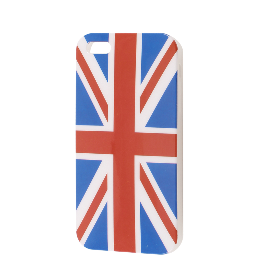 UK Flag Pattern IMD Plastic Case Cover Guard for Apple iPhone 5 5G