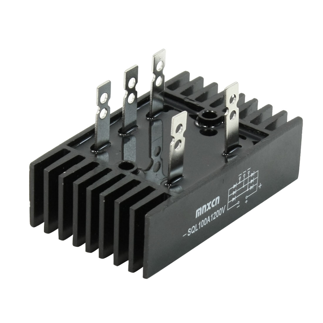 -SQL Heatsink Shape Bridge Rectifier 3 Phase Diode 100A 1200V