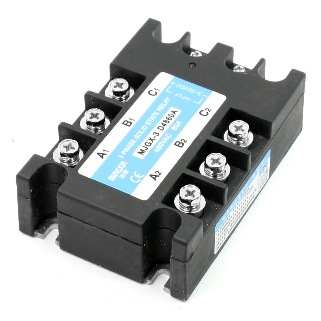 DC to AC Three Phase Solid State Relay MJGX-3 D4860A 480VAC 60A