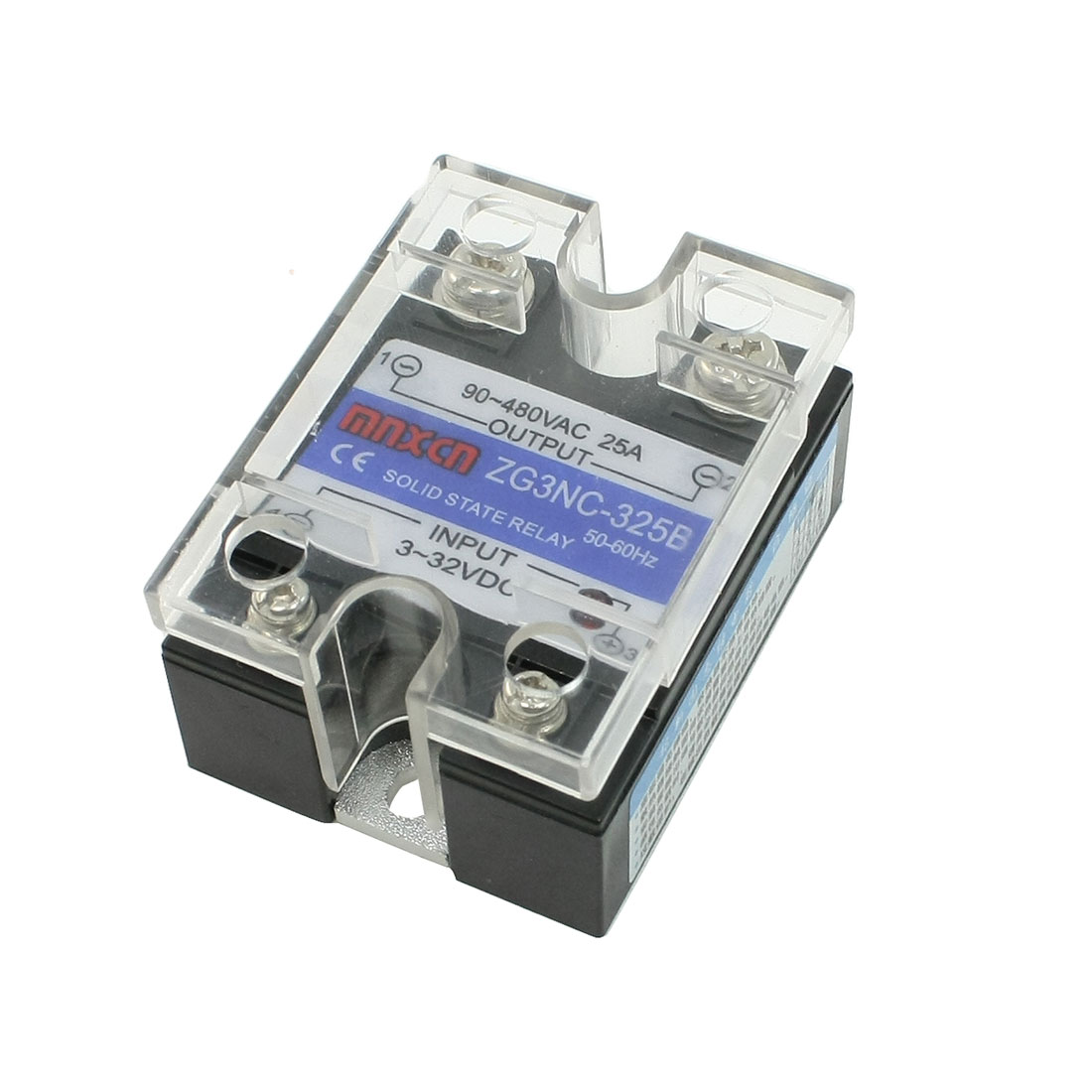 DC to AC Single Phase Solid State Relay ZG3NC-325B Output 90-480V