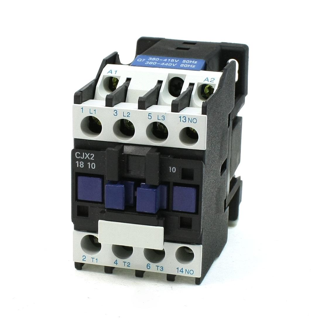 CJX2-18 Coil Voltage 3 Phase 1NO Motor Controller AC Contactor 660V 32A