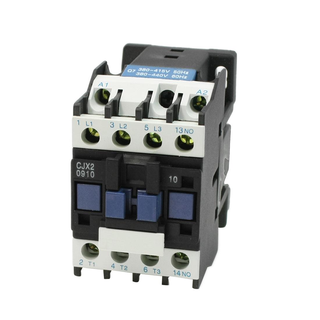CJX2-09 3 Phase One NO 380-415V 50Hz 380-440V 60Hz AC Contactor 660V 25A